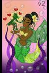 V2 mermaid tiana