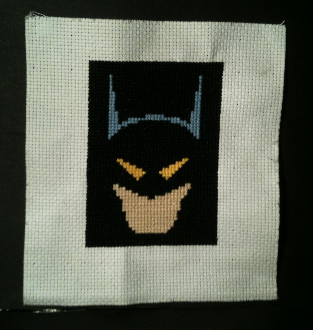 Batman cross stitch by WhispMI21