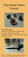 Glass bead charm tutorial