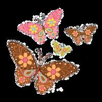 Mariposas Png! by Sofi14