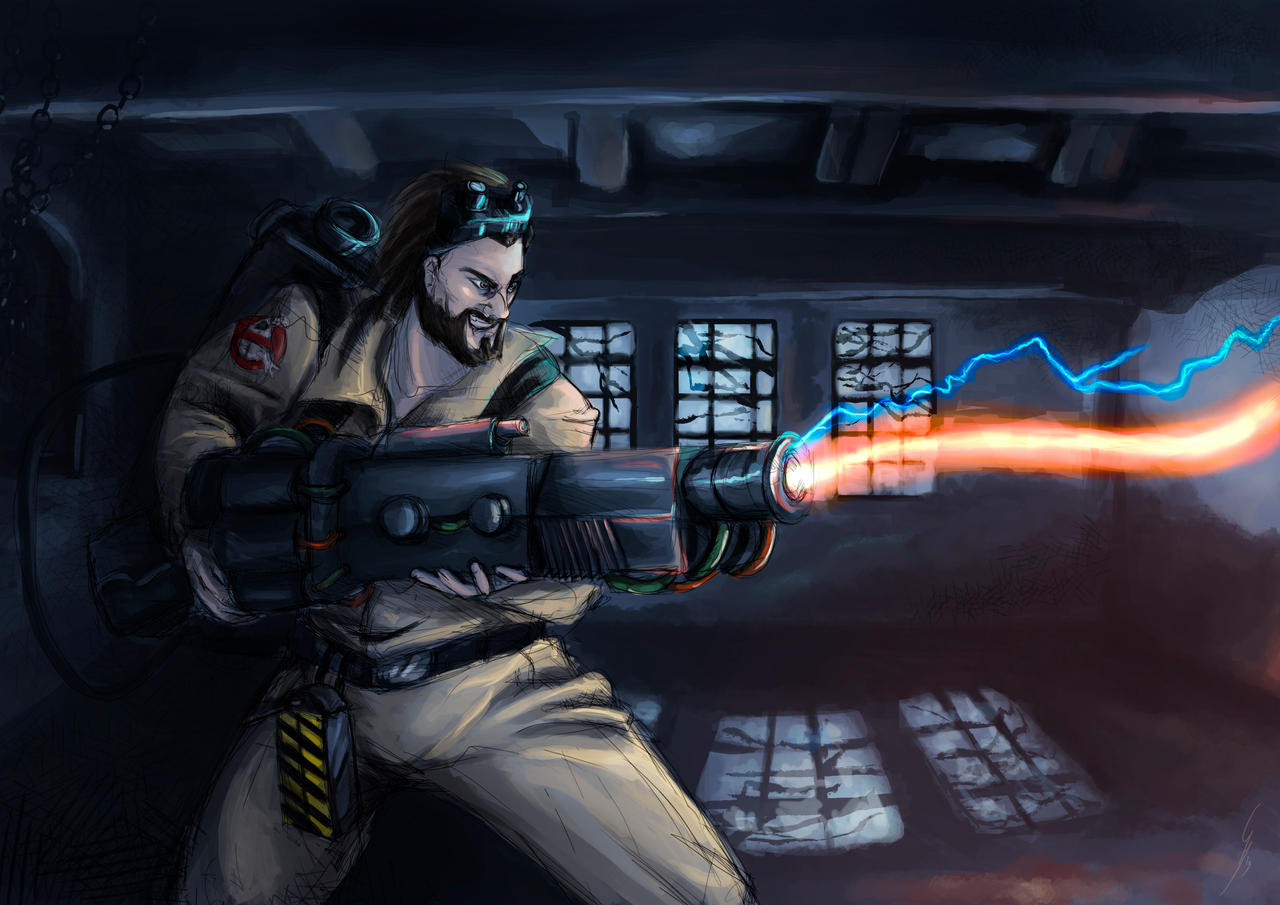Graves skin for halloween - Ghosbusters by DragonsTrace on DeviantArt