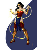 Wonder Woman - an amazon design by DragonsTrace