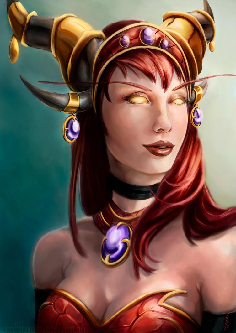 Warcraft alextraza hent porn videos