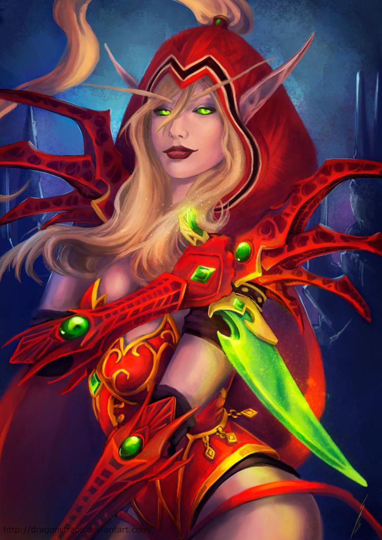 Valeera  Sanguinar by DragonsTrace