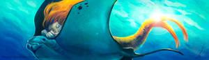 Mermaid and Stingray