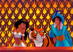 Disney genderbender - Aladdin and Jasmine version