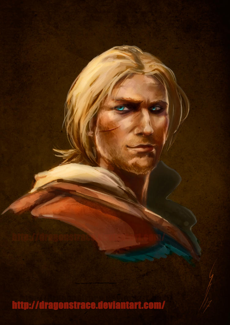 Edward Kenway - portrait by DragonsTrace