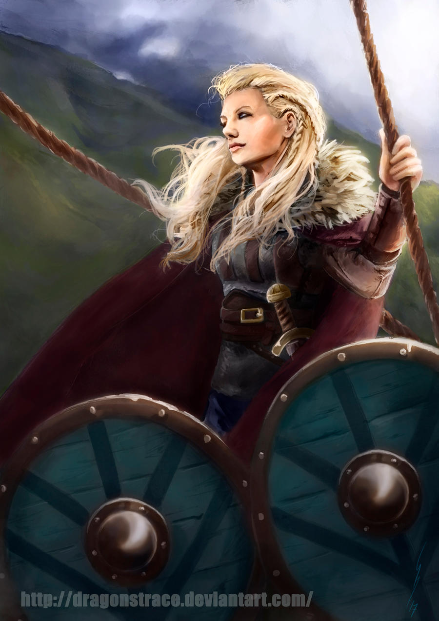 Lagertha - Vikings by DragonsTrace