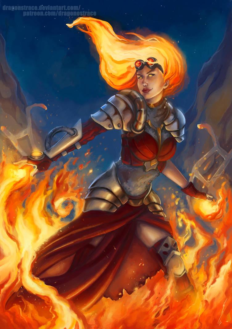 Chandra - Magic the Gathering
