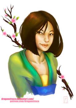Mulan - Portrait sketch