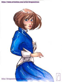 Elizabeth - watercolor 2