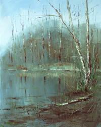 Spring Pond by flitart