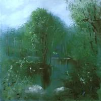 Green silence by flitart