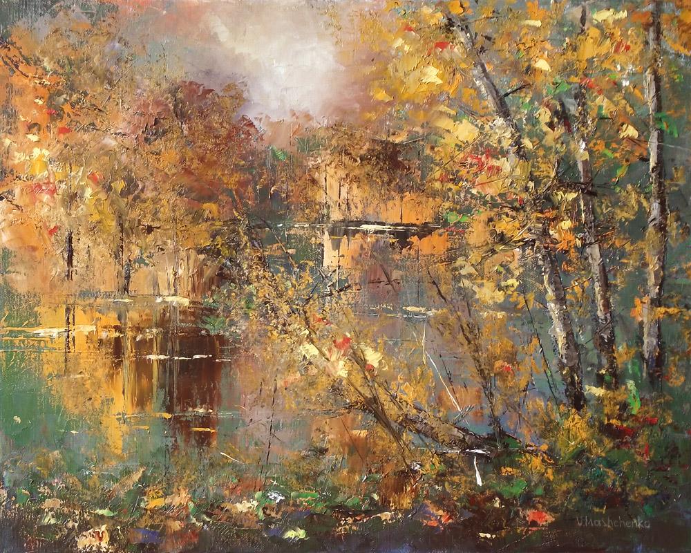 Gold autumn by flitart