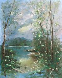 Summer morning by flitart