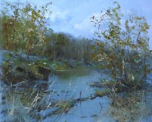 Approach of autumn by flitart