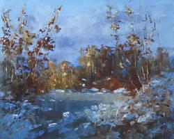 Winter sunlight by flitart