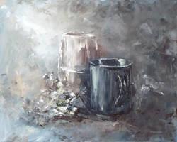 Near the painter by flitart