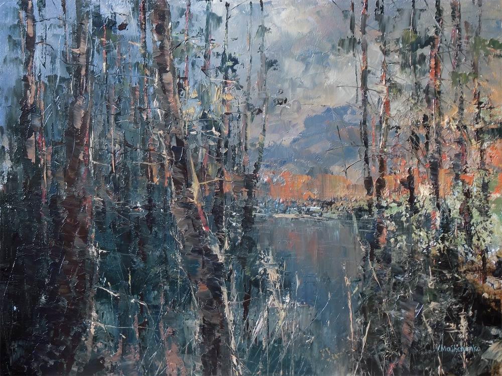 Spring Forest by flitart
