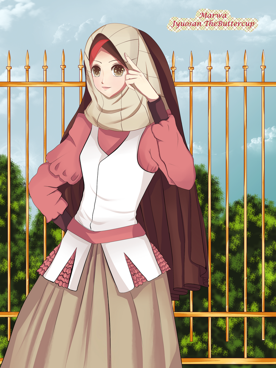 Chibi Hijab Anime Cartoon Girly Pictures Www Picturesboss Com