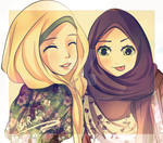 Another hijab drawing :D