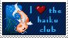 haiku-club stamp by the-beastie