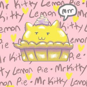Mister Kitty Lemon Pie