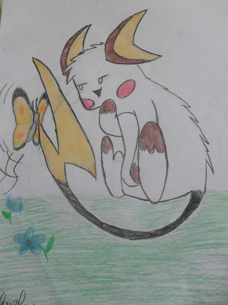 Raichu pokemon by naruhinabrazil