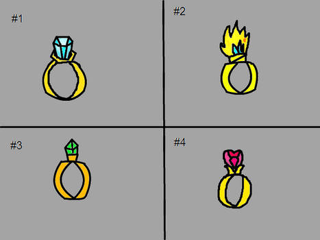 Which Ring Should Pringal Use To Perpose To Paris?