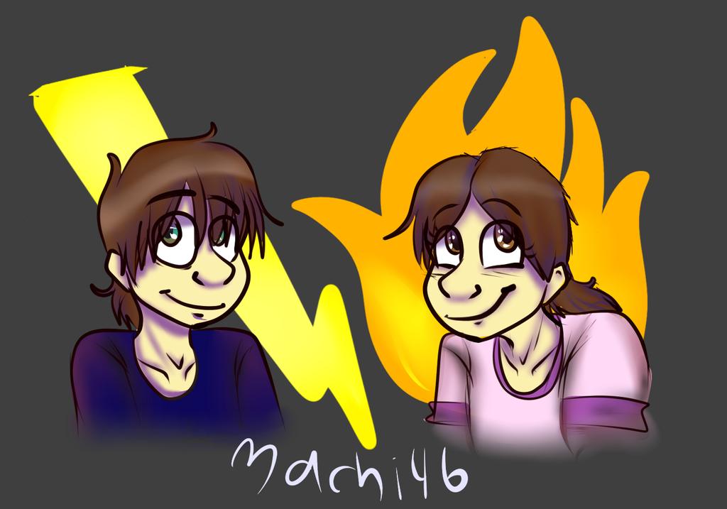 Twinlings by machi46