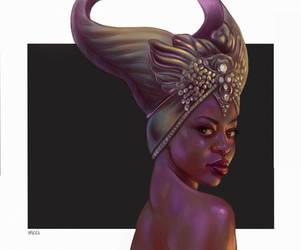 Dragon Age: Inquisition - Vivienne by vricci