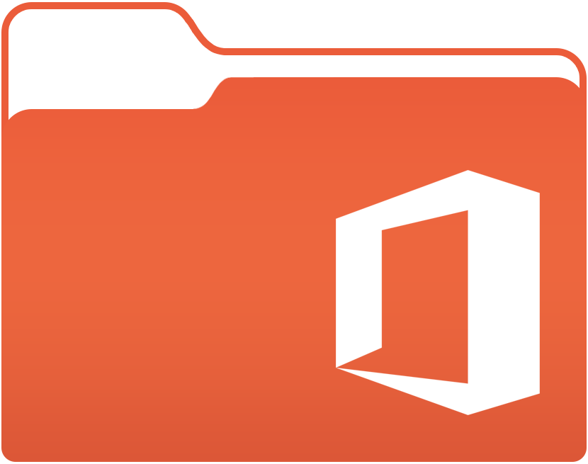 microsoft office 2016 folder icon by muhammadm95 on deviantart rh muhammadm95 deviantart com Microsoft Office Clip Art Drinking Water microsoft office free clipart for mac