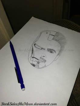 Iron Man/Robert Downey Jr. by StarkSideoftheMoon