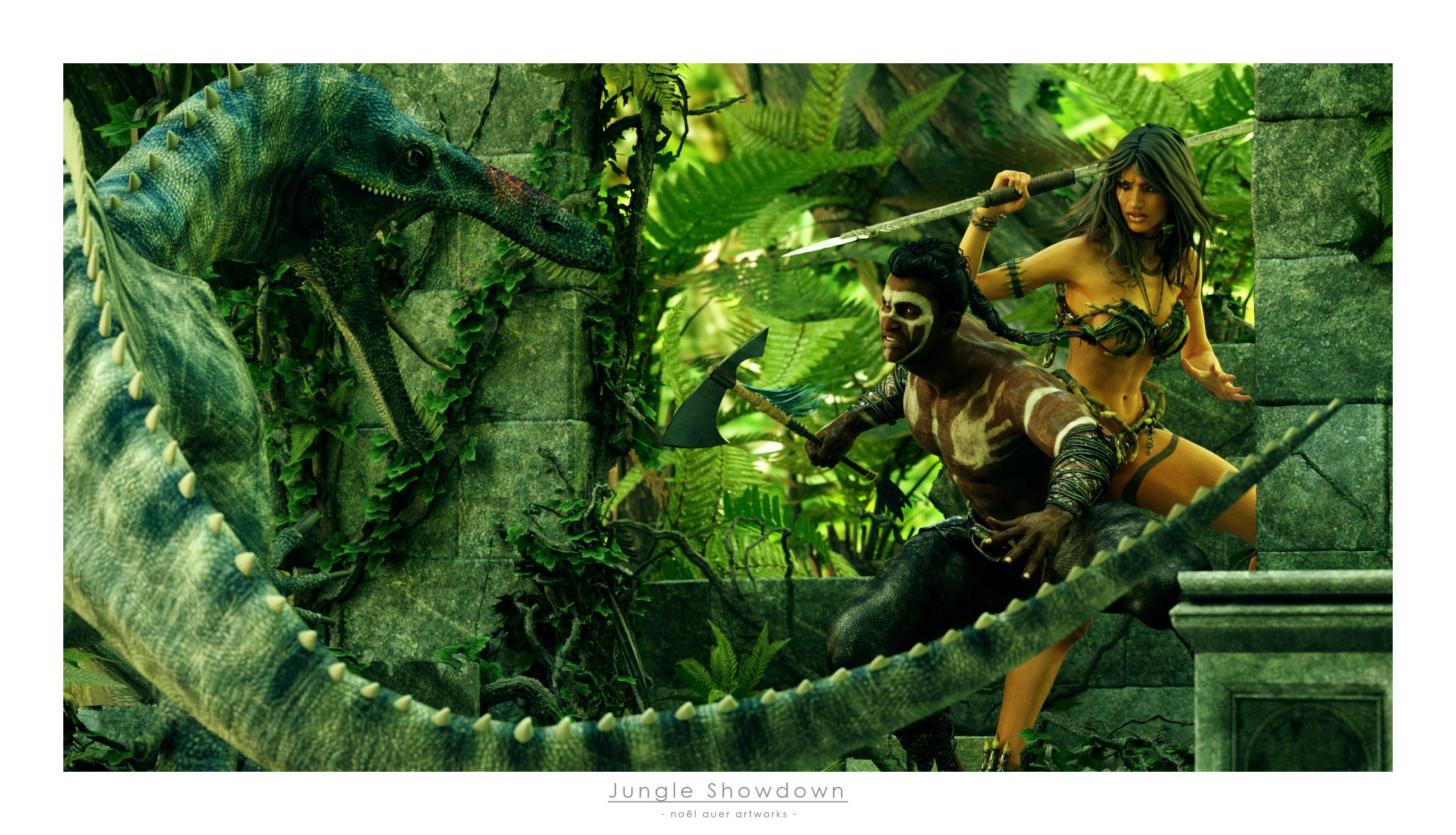 Jungle Showdown by TRRazor