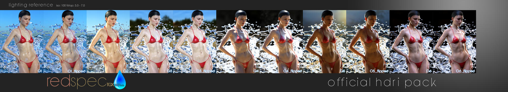 RedSpec TGX Wet Beta Official Promo HDRi-Pack by TRRazor