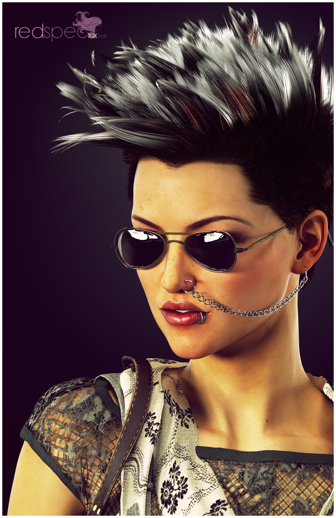 Redspec TGX Hair Female Promo 1 by TRRazor