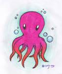 blub blub octopus by masukoona