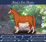 King's Fire Heart by NameOfAMoon