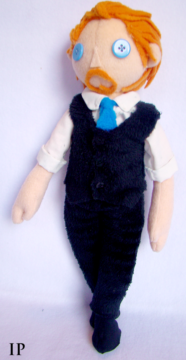 Tom Hiddleston Plush by IdentityPolution