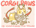 Corgi Paws is Coming to Town!