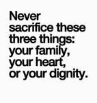 Never Sacrifice