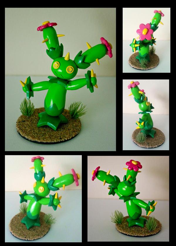 Sculpey Maractus by ChloeMcGhoe