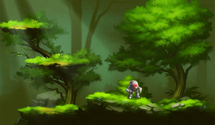 forestry mockup
