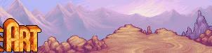 sunset mountain range by st0ven