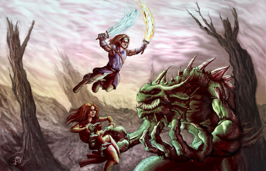 <b>Monster Battle</b> Wallpaper | 1600x1200 | ID:13756