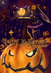 2010 Halloween by crellia