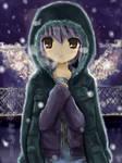 Drawing_Yuki Nagato+Coat