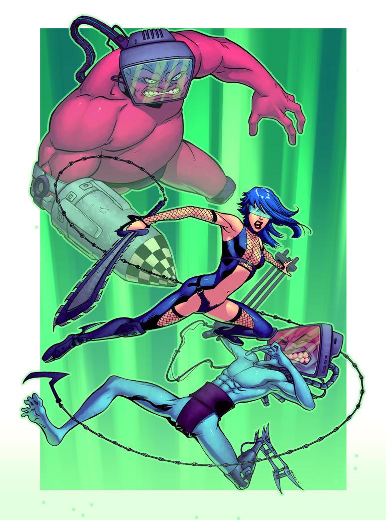 Shi-Jay vs Apex Twins Colors by Shwann