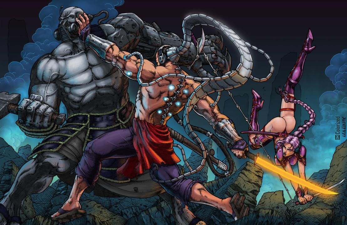 Shwann Universe Battle 2 by Shwann