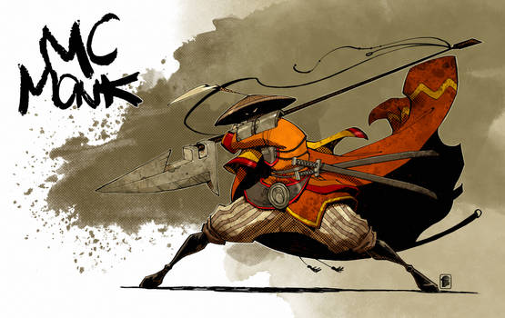 MC Monk by Nelson Daniel